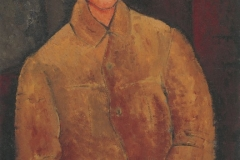 Modigliani_Portrait-of-Soutine-1916