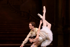 The Sleeping Beauty_The Royal Ballet, Matinee Performance 18th February 2017  Princess Aurora; Yasmine Naghdi, Prince Florimund; Matthew Ball, King Florestan; ChristopherSaunders, Queen; Christina Arestis, Cattalabutte; Thomas Whitehead, Carabosse; Elizabeth McGorian, Lilac fairy; Gina Storm_Jensen, Fairy of The Crystal Fountain; Leticia Stockley, Fairy of The Enchanted Garden; Tierney Heap, Fairy of The Woodland and Glade; Mayara Magri, Fairy of The Song Bird; Meaghan Grace Hinks, Fairy of The Golden vine; Anna Rose O'Sullivan,  The English Prince; Bennet Gartside, The French Prince; Thomas Whitehead, The Indian Prince; Eric Underwood, The Russian Prince; Tomas Mock,   Florestan; Benjamin Ella, Leticia Stock, Mayara Magri, Puss in Boots; Kevin Emerton, Camille Bracher, Bluebird; Anna Rose O'Sullivan, Matthew Ball, Red riding Hood; Isabella Gasparini, Tomas Mock,